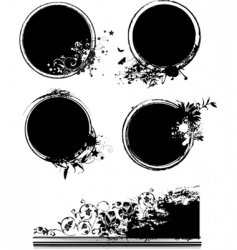 organic symbols vector image