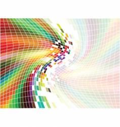 Rainbow mosaic vector