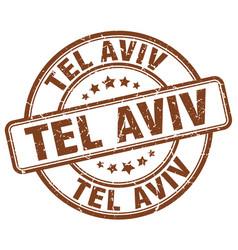 Tel aviv stamp vector