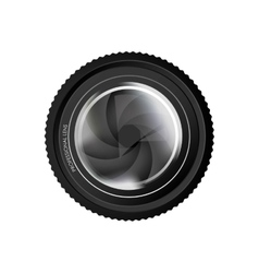 Camera lens icon image vector