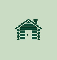Cabin graphic vector image