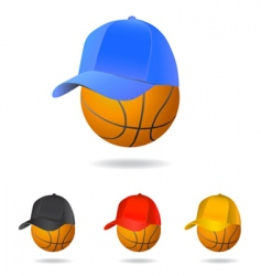 basketball mascot vector image vector image