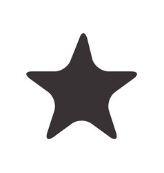 Black star symbol icon design vector