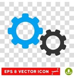 Gears eps icon vector