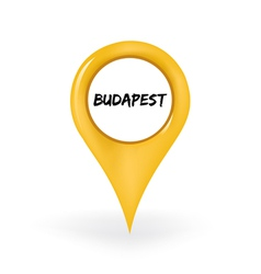 Location budapest vector