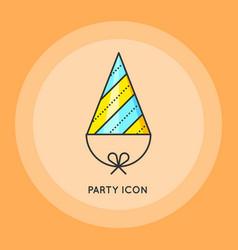 Symbol of holiday birthday celebration vector