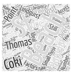 Top rated st thomas beaches word cloud concept vector