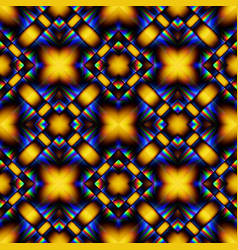 Complex seamless pattern of rhombuses vector