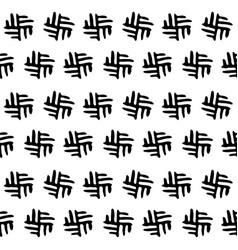 Seamless black and white background pattern vector