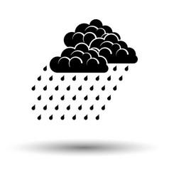 Rainfall icon vector