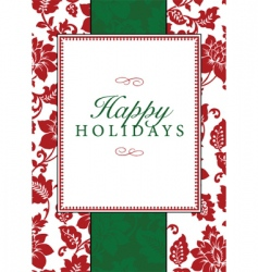 Christmas frame and pattern vector