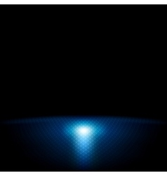 Dark blue abstract tech background vector