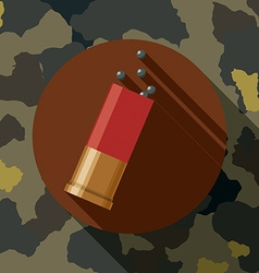 Military forces design vector image vector image