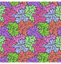 olorful abstract seamless pattern vector image
