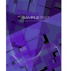 purple abstract composition vector image vector image