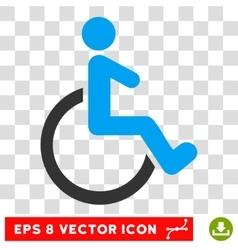 Wheelchair eps icon vector