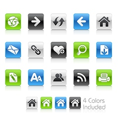 Web Navigation Clean Series vector image