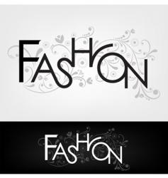 Fashion design vector
