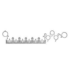 Diagrammatic representation of chlorine bleaching vector