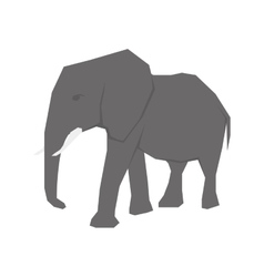 elephant african animal vector image vector image
