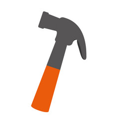 hammer tool isolated icon vector image vector image