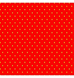 Strawberry seamless pattern with seeds fruit vector