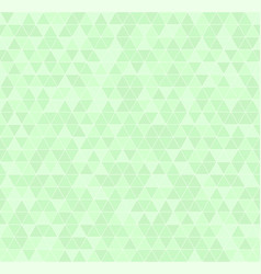 Green triangle pattern seamless vector