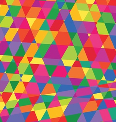 Geometric pattern triangles background polygonal vector