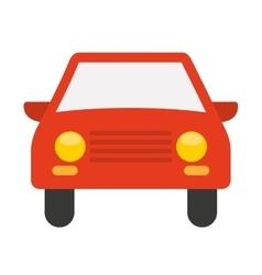Car vehicle isolated icon design vector