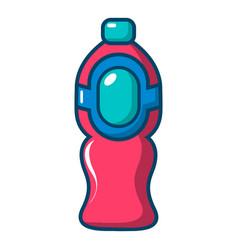 bottle juice icon cartoon style vector image