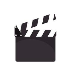 Cinema clapboard device vector