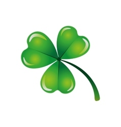 clover or shamrock icon image vector image