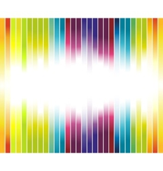 colorful rainbow advertisement vector image