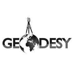 geodesy symbol for surveyor vector image vector image