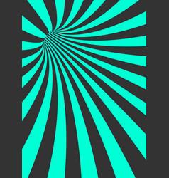 spiral tunnel vortex motion striped tunnel vector image vector image