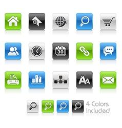 Website Internet Clean Series vector image vector image