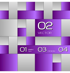 Purple layout vector