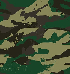 Khaki jungle camouflage pattern vector