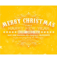 Bright christmas banner vector