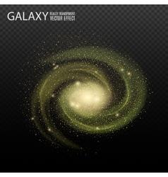 Galaxy really transparent galaxy effect vector