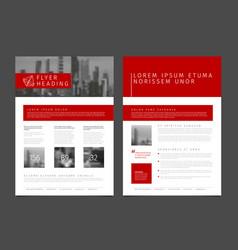 modern brochure template flyer design template vector image