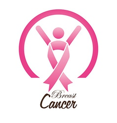 Cancer design over white background vector