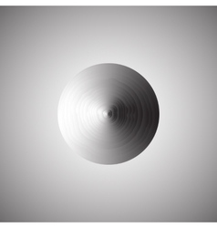 Abstract metallic background with round vector
