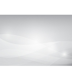 Grey abstract background lighting curve and layer vector