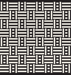 abstract geometric pattern with stripes lattice vector image