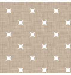Seamless retro pattern Linen eps10 Vintage vector image vector image