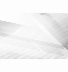 grey abstract background geometry shine and layer vector image
