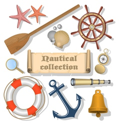 Nautical collection 3 vector