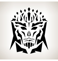 Abstract Mask Tribal Style vector image vector image