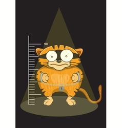 Cats prisoners were captured vector